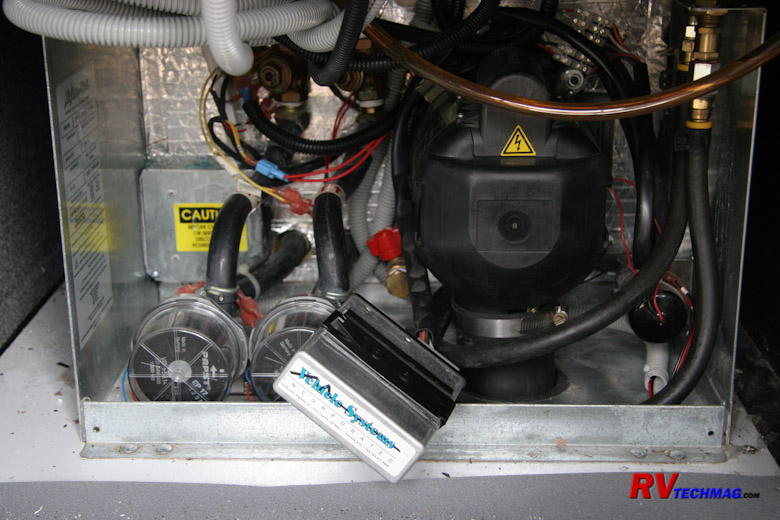 Servicing Aqua-Hot Heating Systems | Hydro Hot Wiring Diagram |  | RV Tech Magazine