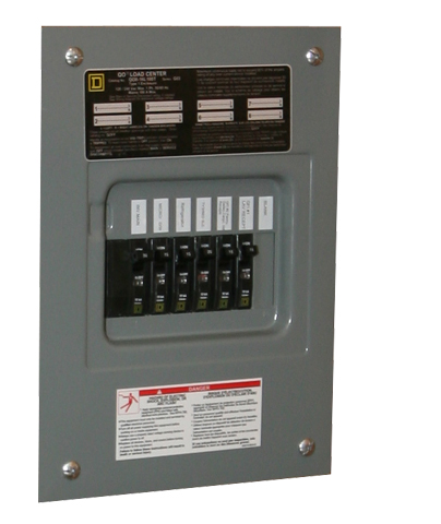 Electrical tutorial chapter 6 breaker panels typical circuit breaker panel cheapraybanclubmaster Images